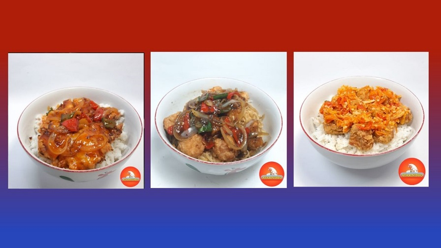 foto menu rice bowl ayamnibro